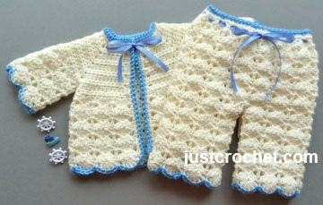72d37f3191af Free baby crochet pattern boys outfit uk
