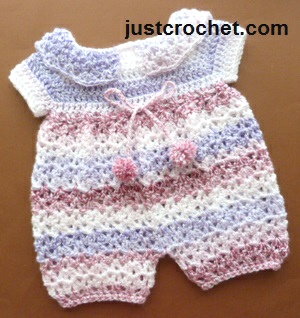 191fbbbfe8c6 Free baby crochet pattern jump suit uk