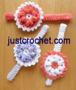 Headband with Flower USA