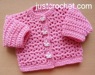 d9c601030 Free baby crochet pattern preemie cardigan usa