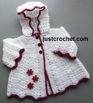 0ab72c813 Free baby crochet pattern hooded coat usa